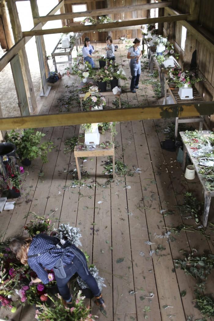 Floret flower workshop