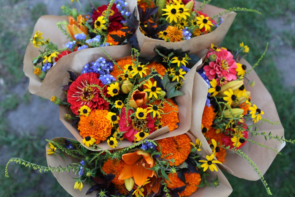 Making Market Bouquets - Floret Flowers