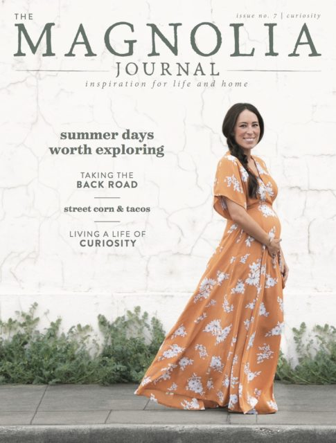 Magnolia Journal Floret feature Curiosity issue