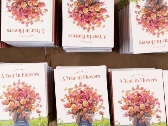 A Year in Flowers book release celebration