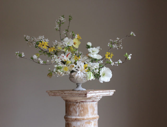 Christin Geall spring arrangement
