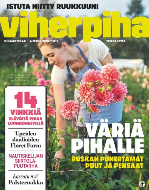 Viherpiha September 2020 Floret cover