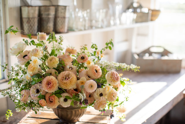 Dainty Bouquet of Flowers and Buds Makes a Delightful Centerpiece Digital Pattern Only